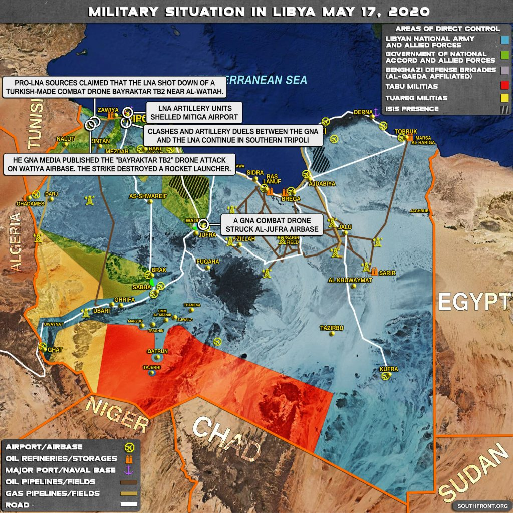 Military Situation In Libya On May 17, 2020 (Map Update)
