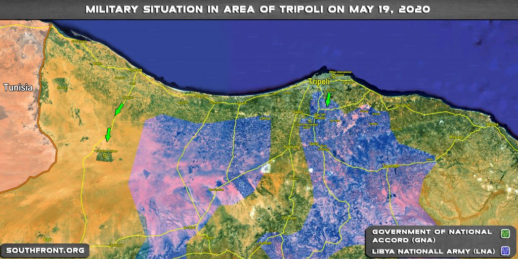 Turkish-led Forces Captured Another Town From Libyan Army