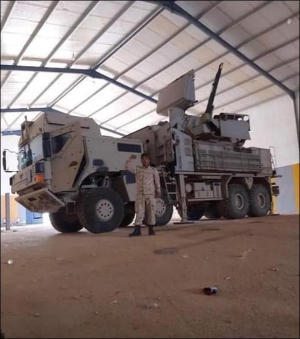In Photos: UAE-supplied Pantsir Air Defense Systems In Libya