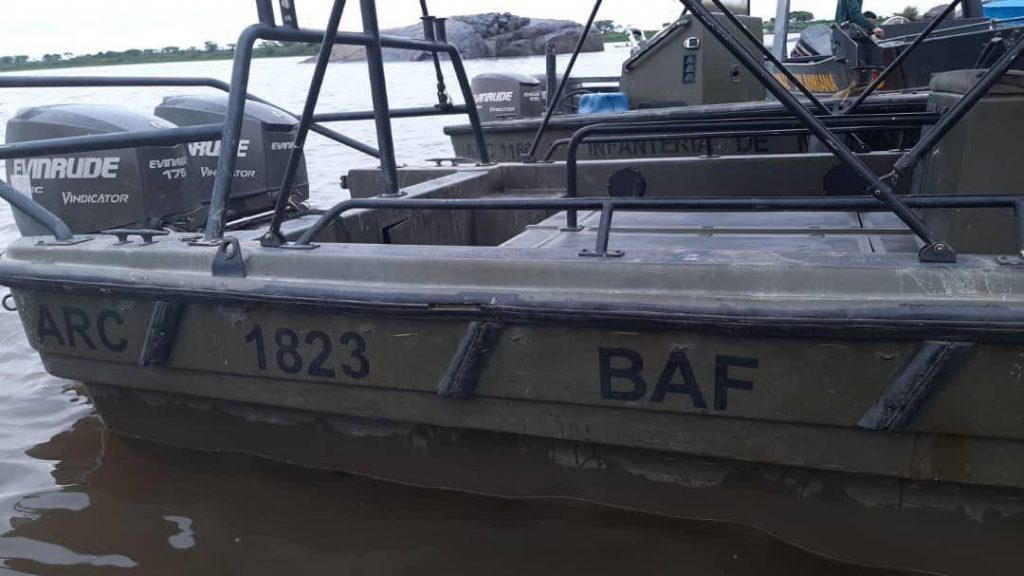 Venezuela Seizes Abandoned Colombian Military Boats, Weapons (Photos)