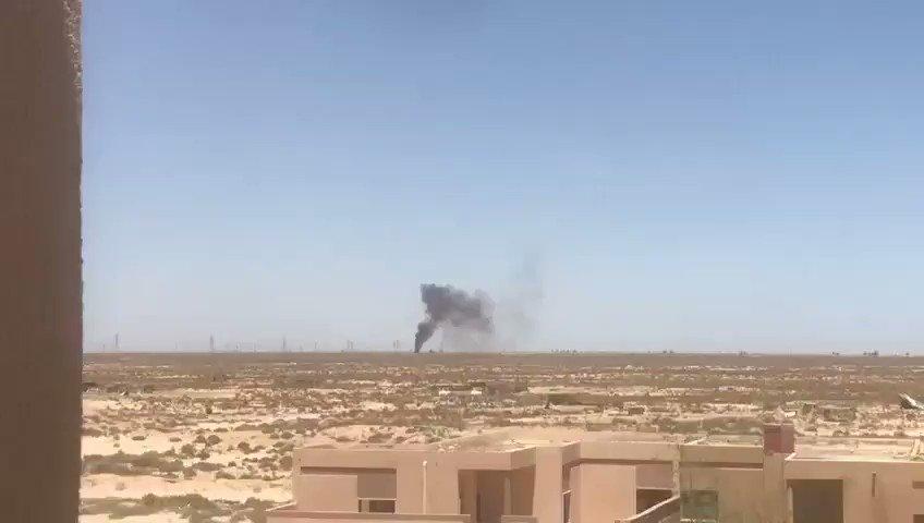 Government Of National Accord Begins Massive Push On LNA-Controlled Al-Watiya Airbase