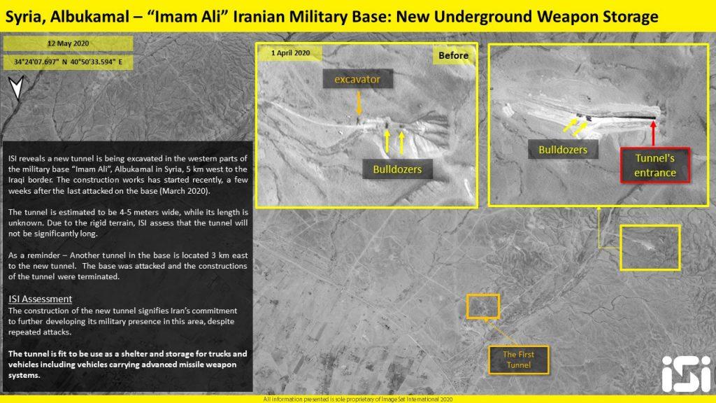 Satellite Images: Iran Supposedly Created New Underground Weapon Storage Near Al-Bukamal