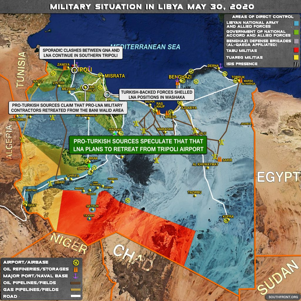 Military Situation In Libya On May 30, 2020 (Map Update)
