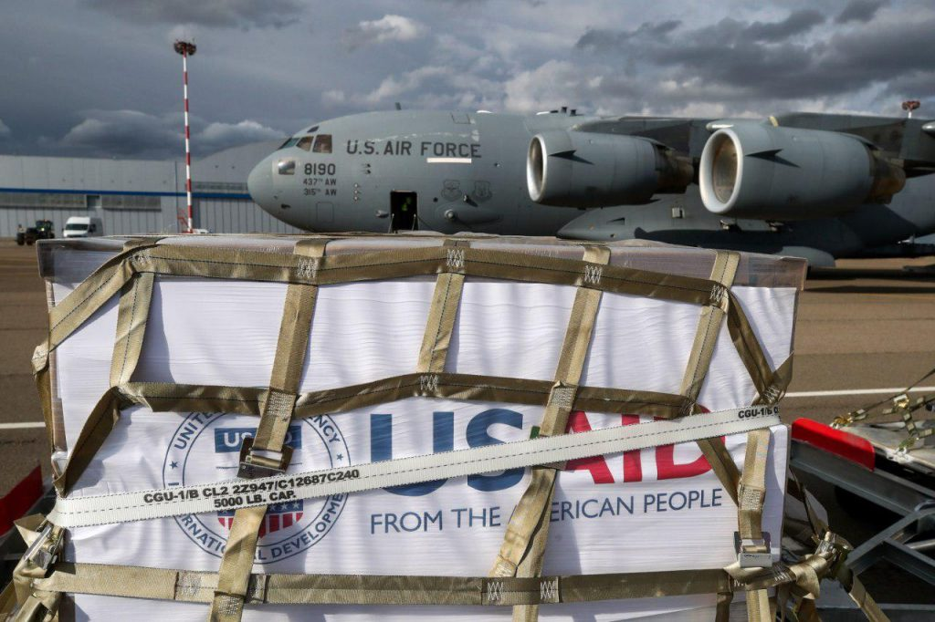 US Sends Coronavirus Aid Package With Ventilators To Russia
