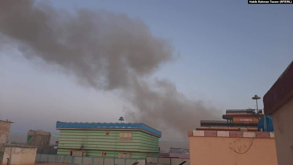 Taliban Car-Bomb Leaves At Least 7 Intelligence Officers Dead In Eastern Afghanistan