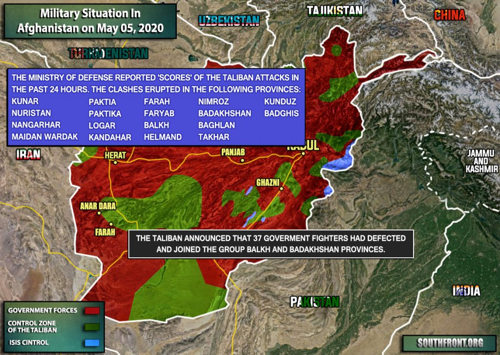 Military Situation In Afghanistan On May 5, 2020 (Map Update)