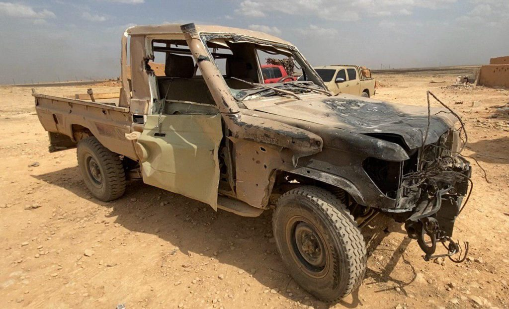 In Photos: Syrian Government Forces' Operation Against ISIS In Homs-Deir Ezzor Desert