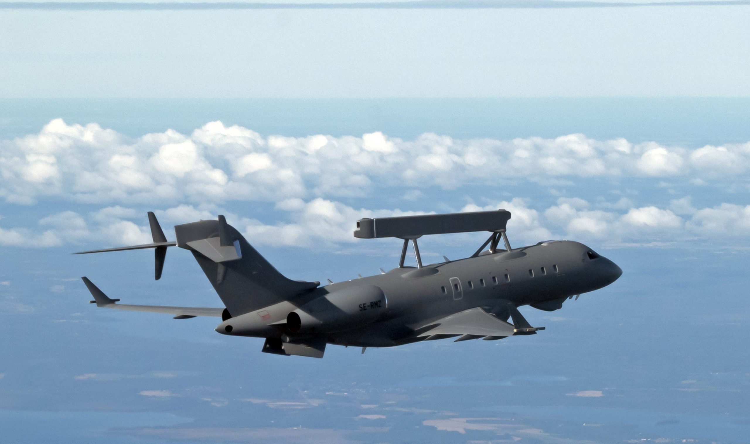 SAAB Delivered First GlobalEye Airborne Warning And Control System To UAE