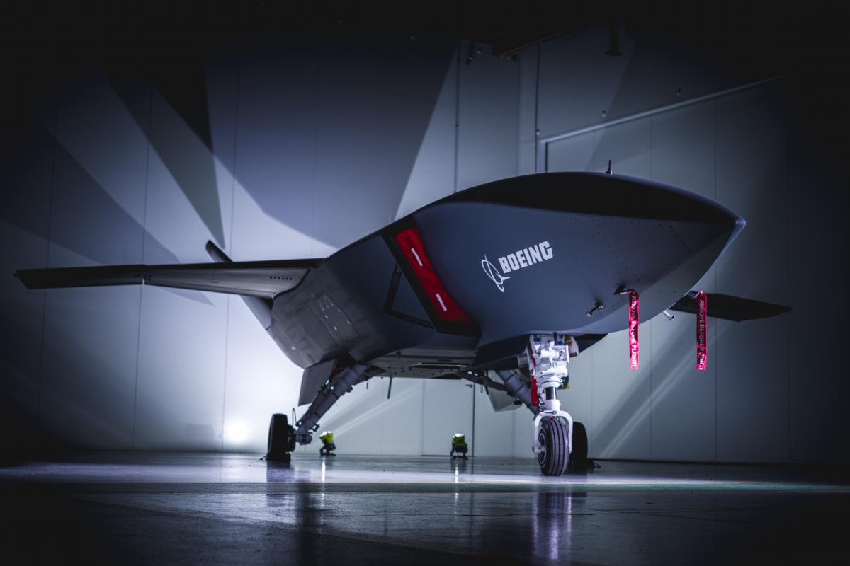 Boeing Presents First Loyal Wingman Unmanned Aerial Vehicle To Australian Air Force