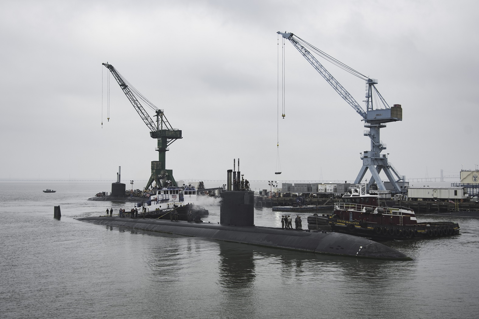 U.S. Appears To Lack Capability To Repair Its Nuclear Submarine Fleet