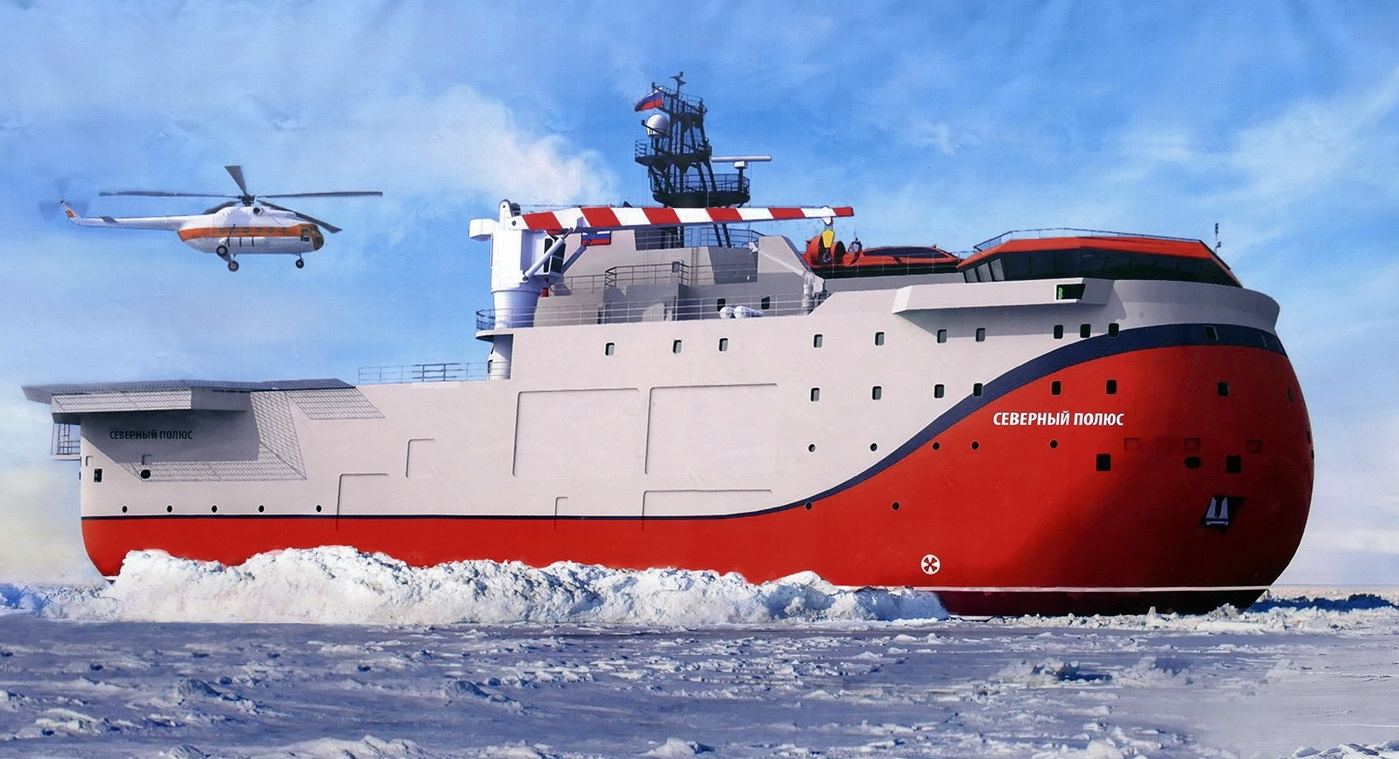 "Russia's ""North Pole"" Ice-Resistant Self-Propelled Platform To Be Delayed By 2 Years"