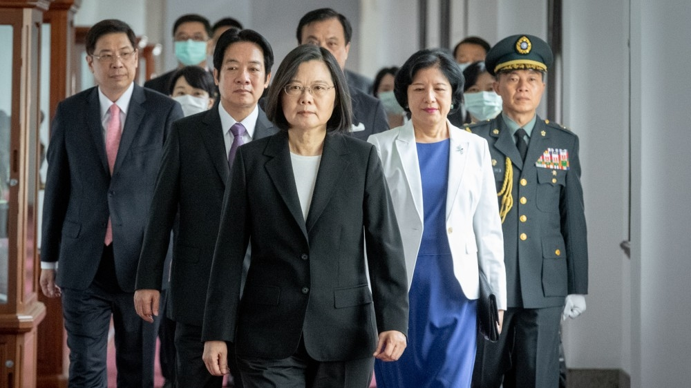 """Taiwan President Tsai Ing-wen Sworn For Second Term, Refuses """"One Country, Two Systems"""""""