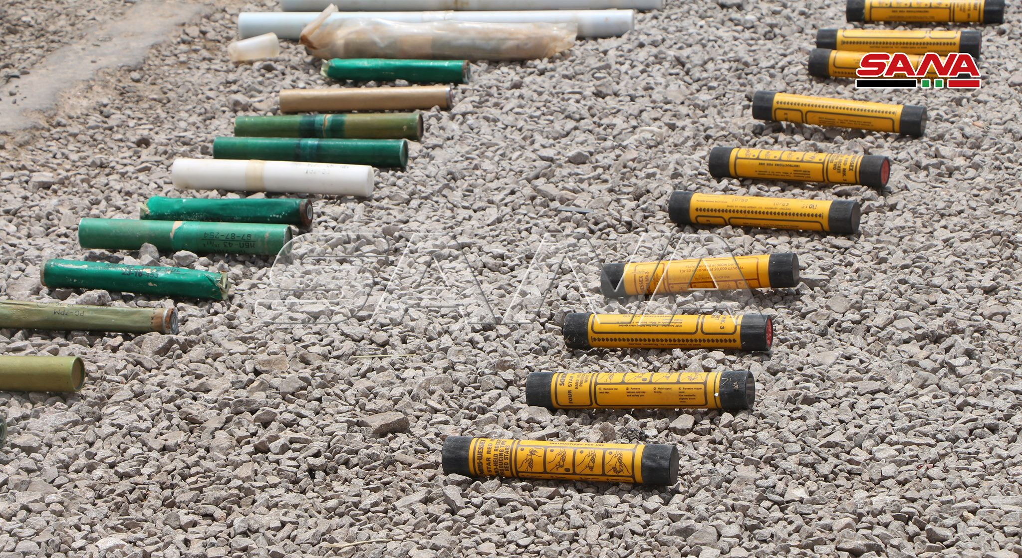 Syrian Army Uncovers Weapons, Including Anti-Aircraft Missiles, In Western Daraa (Photos)