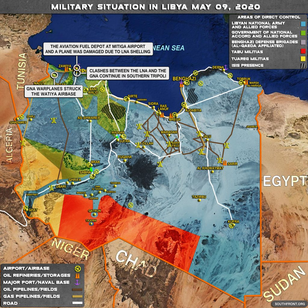 Military Situation In Libya On May 9, 2020 (Map Update)