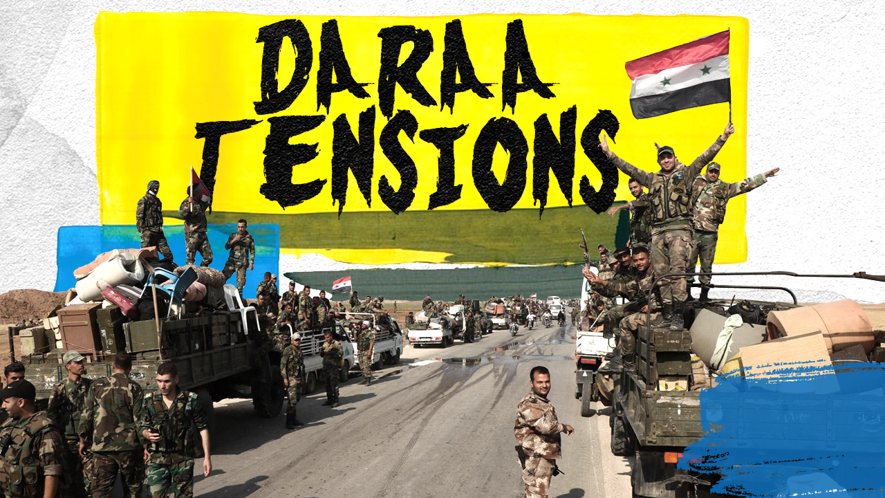 In Video: New Reinforcement For Damascus Forces Spotted In Syria's Daraa