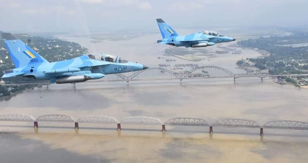 Myanmar Air Force Uses Yak-130 Trainer Aircraft In Combat For First Time Ever: Video