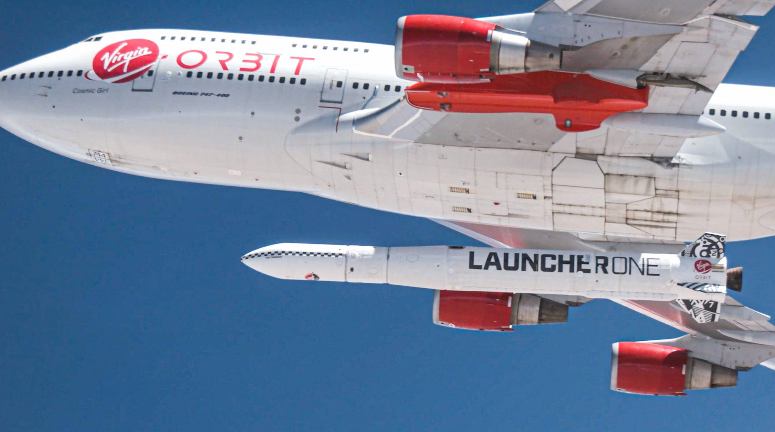 "Sir Richard Branson's Cosmic Girl Rocket Fails Its ""Virgin"" Flight"