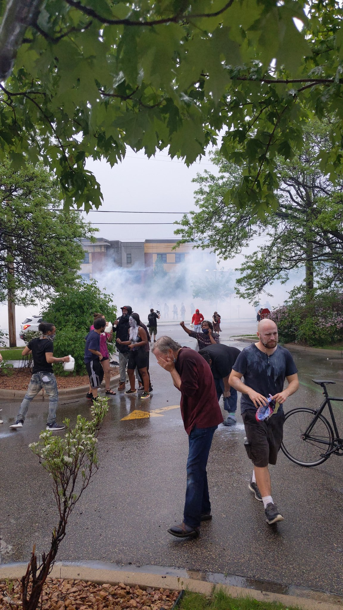 Riots In Minneapolis After Police Officer Kills Handcuffed Black Man