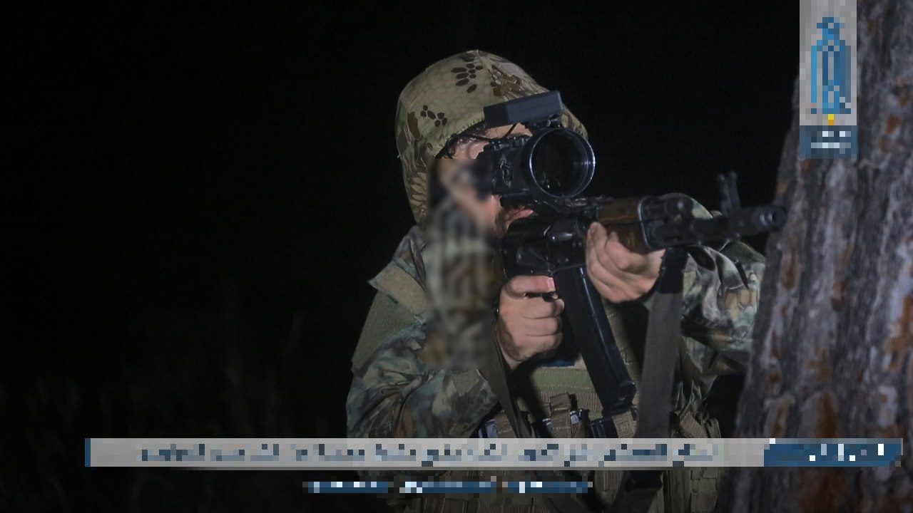 New Batch Of Hay'at Tahrir Al-Sham 'Night Snipers' Completes Training (Photos)