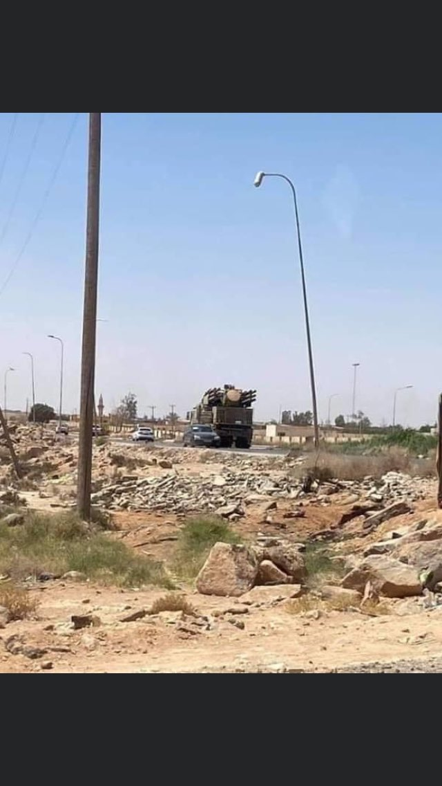 Haftar's Forces Carry Out Wide Airstrike Operation In Response To GNA's Advance