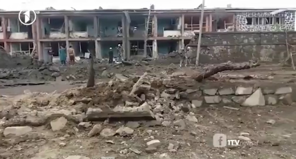 In Video: Impact Of Taliban Attack On Military Base In Gardiz City