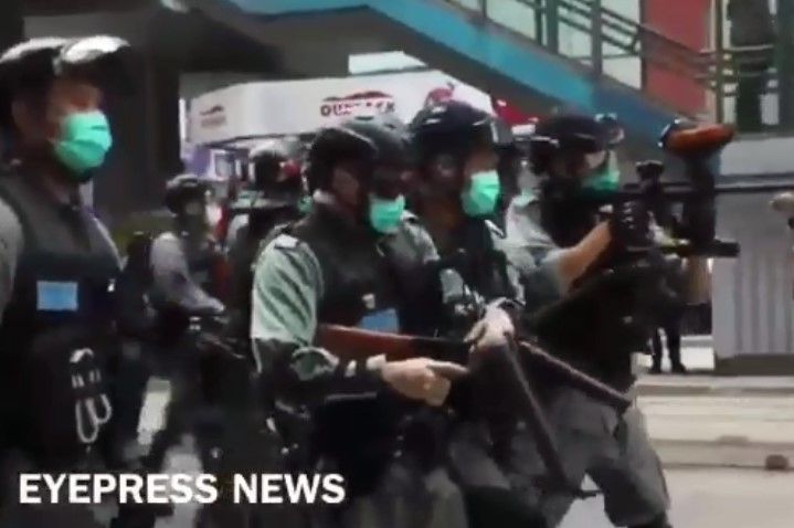 New Round Of Protests Continues In Hong Kong Following Introduction Of New National Security Law