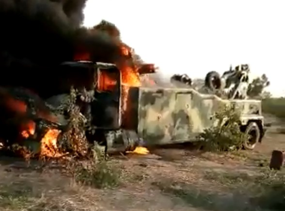 Nigerian Armed Forces Conduct Series Of Operations Against Boko Haram And ISIS In Borno State