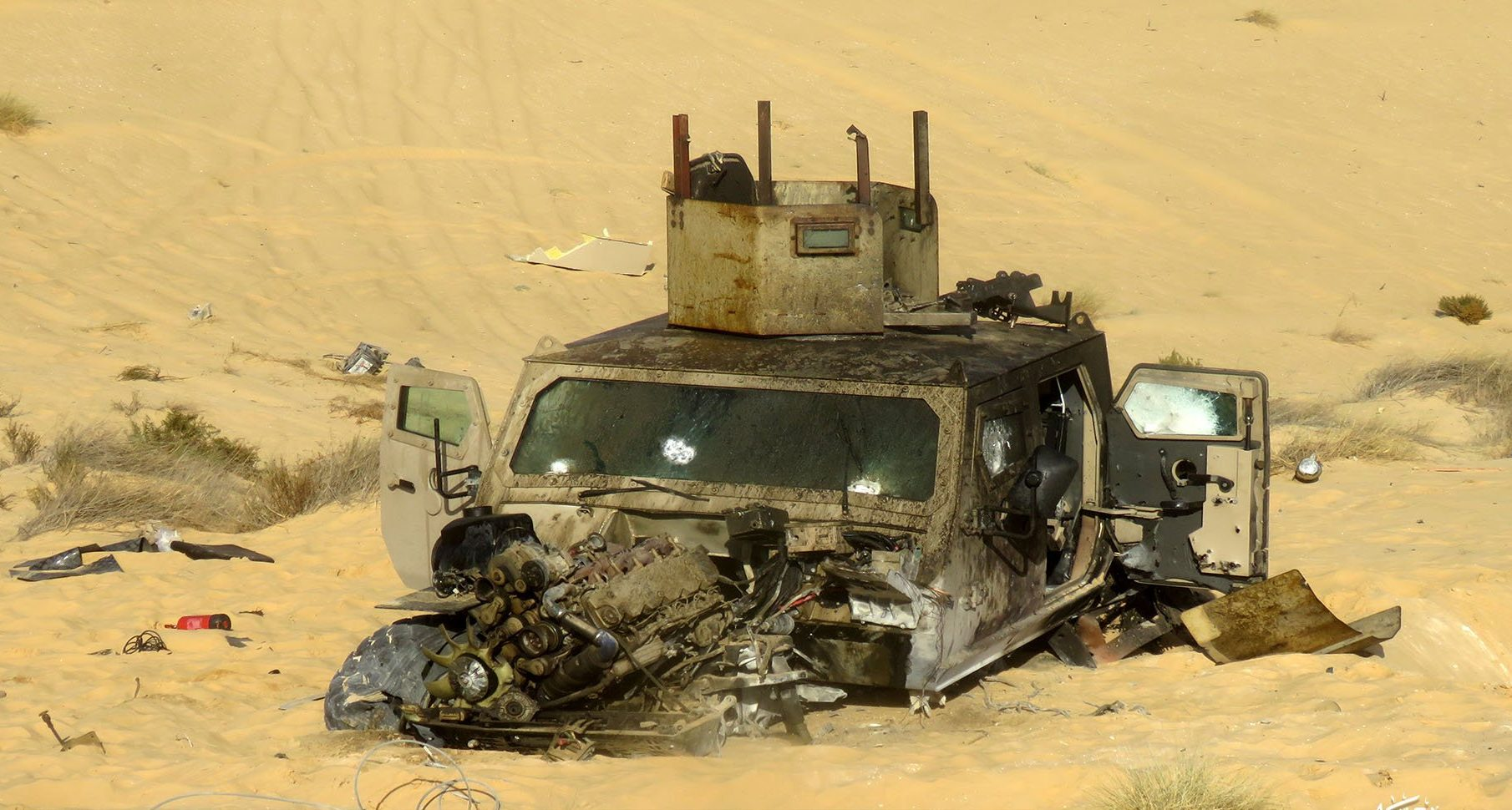 Ten Egyptian Service Members Killed, Injured In New Sinai Attack