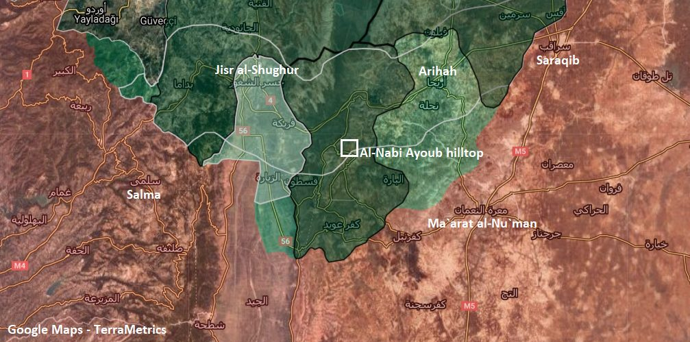 Turkish Military Establishes Post At Idlib's Highest Hilltop