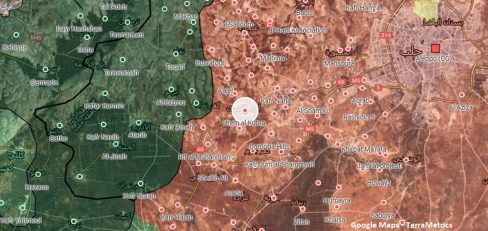 Turkish Artillery Shelled Syrian Army Positions In Western Aleppo: Monitoring Group