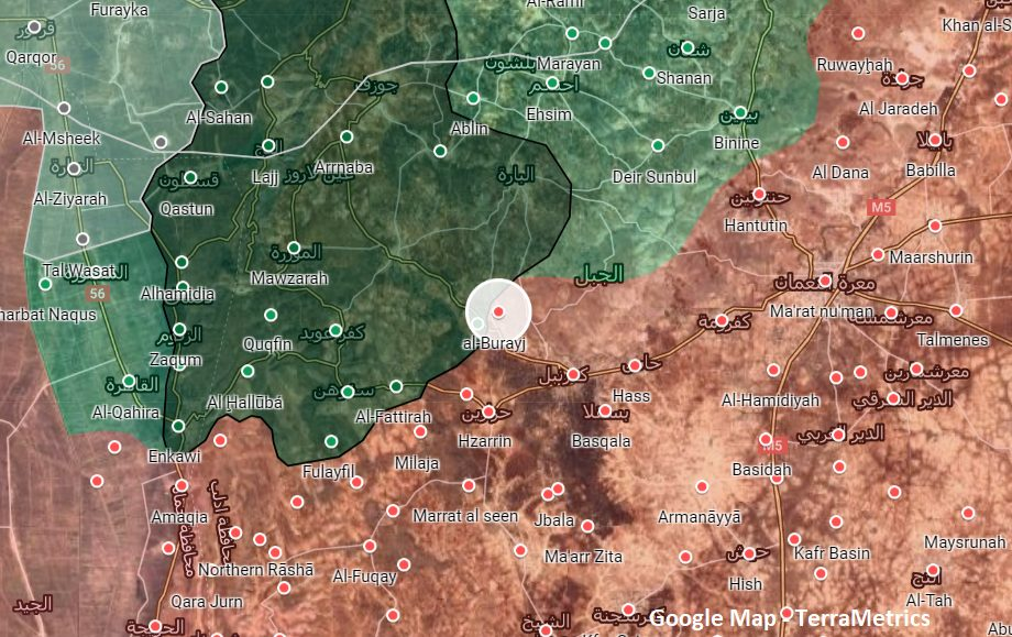 Militants Target Syrian Army Troops In Southern Idlib With Guided Missile