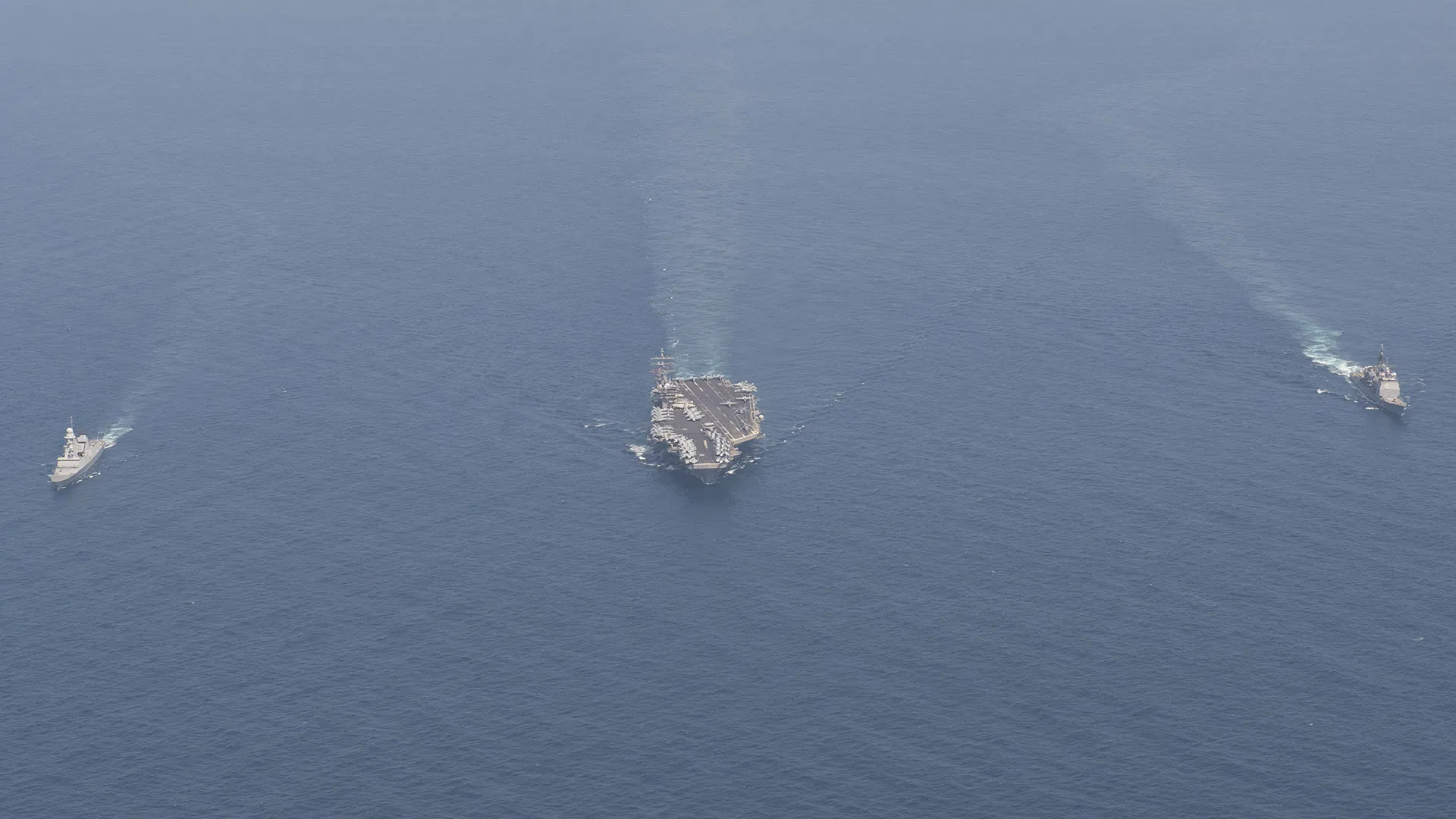 U.S. Has 7 Out Of Its 11 Aircraft Carriers Simultaneously Underway