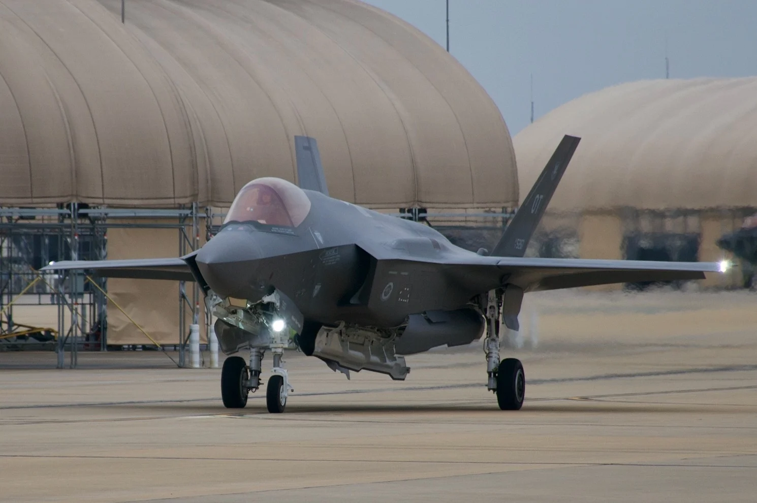 F-35A Fighter Jet Crashes During Routine Flight In Florida