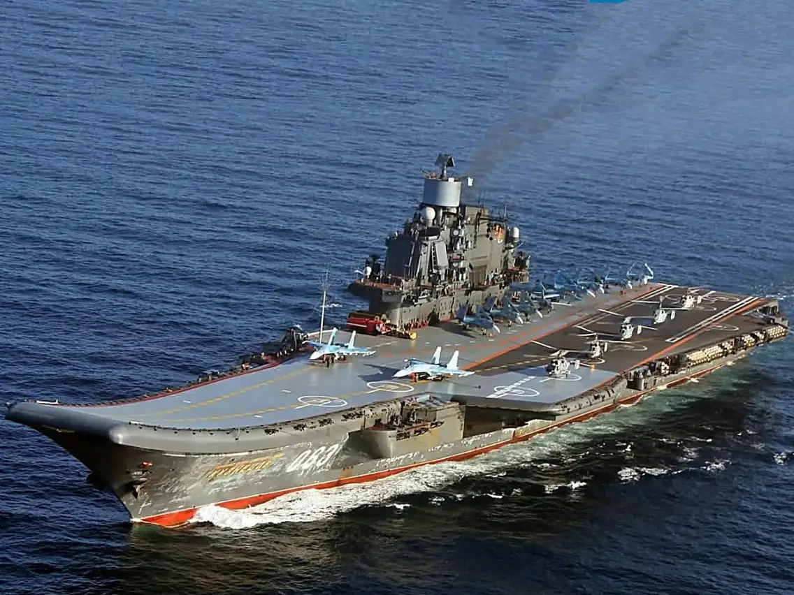 "Russia To Dry-Dock ""Admiral Kuznetsov"" Heavy Aircraft-Carrying Missile Cruiser For Extensive Repairs"
