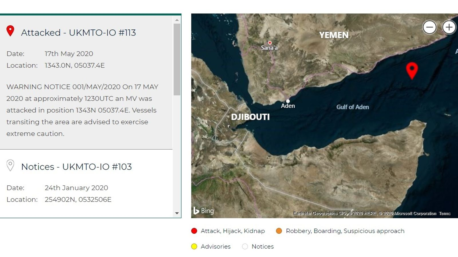 UK-Flagged Tanker Attacked By Pirates In Gulf Of Aden