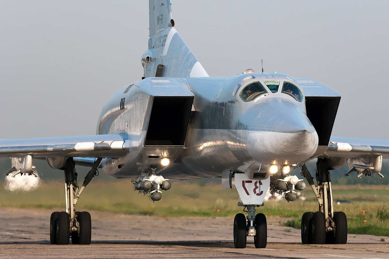Russia Test-Launched Kinzhal Hypersonic Missile From Upgraded Tu-22M3M Bomber