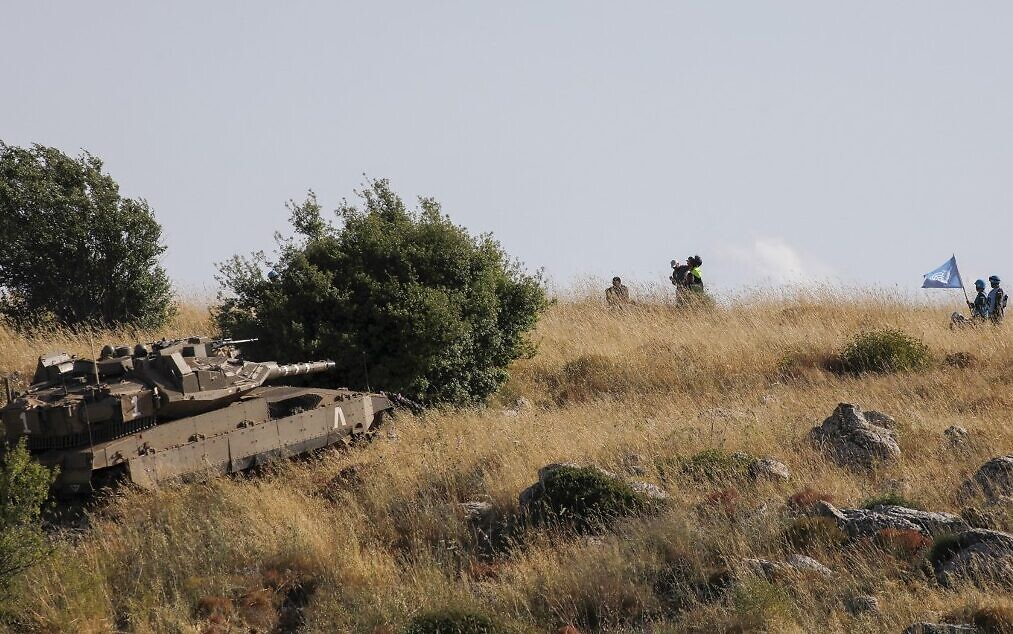 IDF Tank Has Standoff With Lebanese Soldiers After Crossing Technical Fence Into No Man's Land