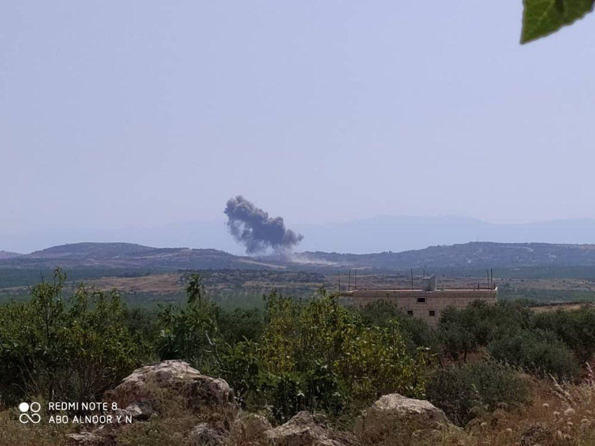 Al-Qaeda Militants Raided Syrian Army Positions In Southern Idlib. Russian Airstrikes Reported