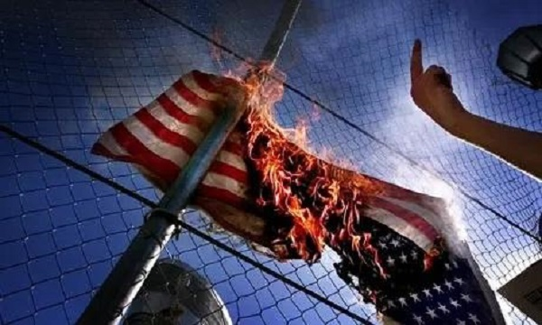 Arsonists Target California Homes Displaying American Flags