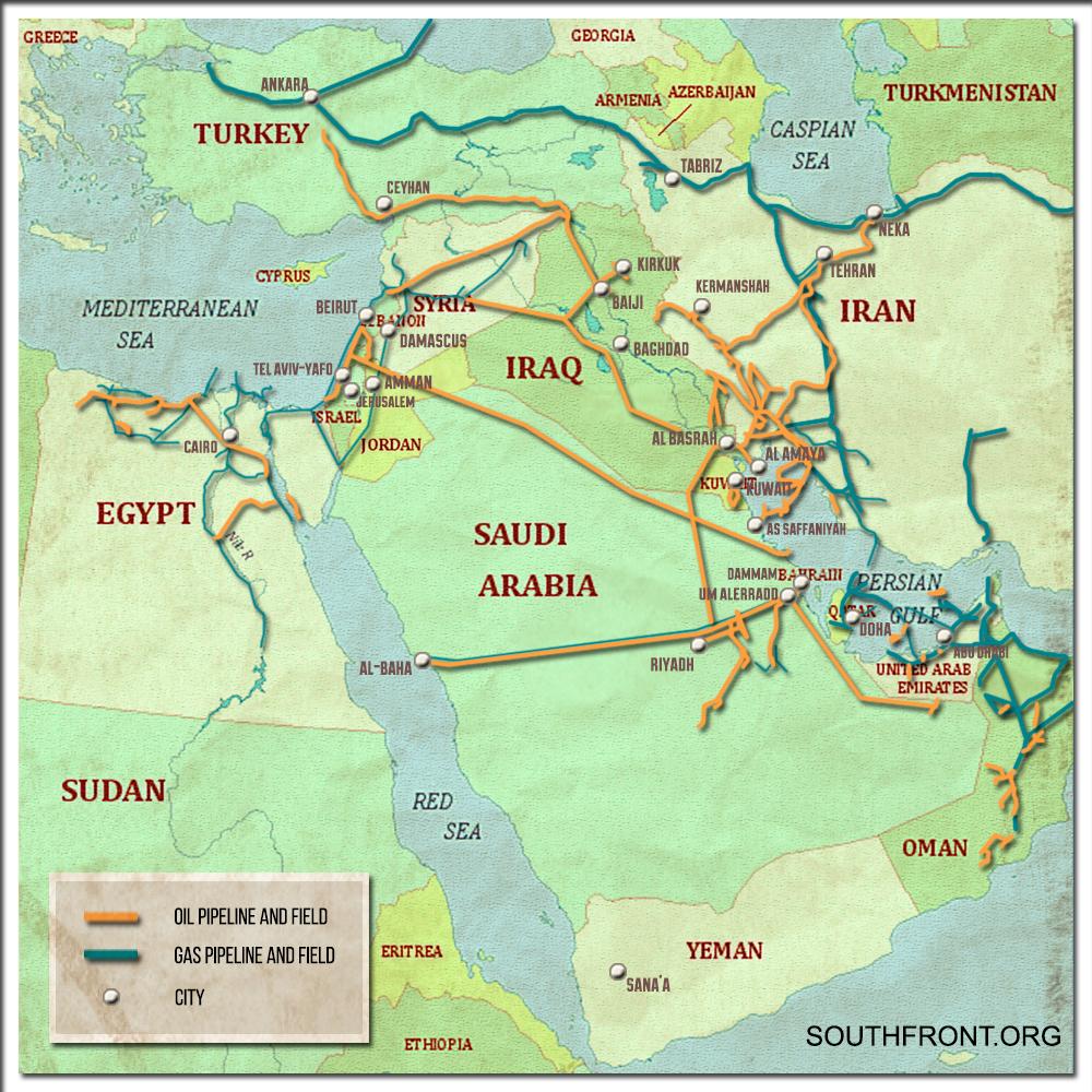 Russia's Massive Oil Projects In Iraq