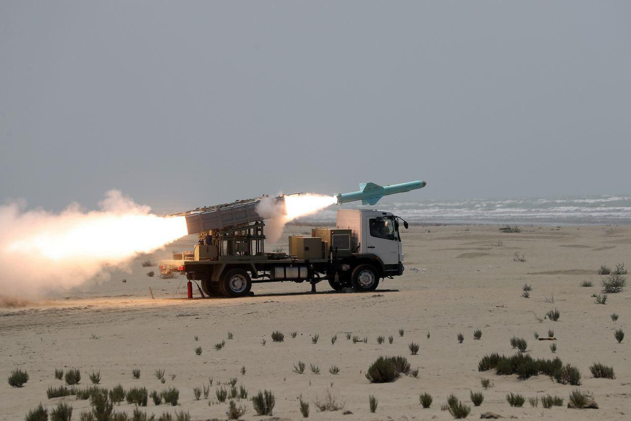 Iran Test-Fires 'New Generation' Anti-Ship Cruise Missile (Photos)