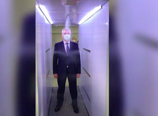 Putin Has Three 'Disinfection Tunnels' To Shield Him From COVID
