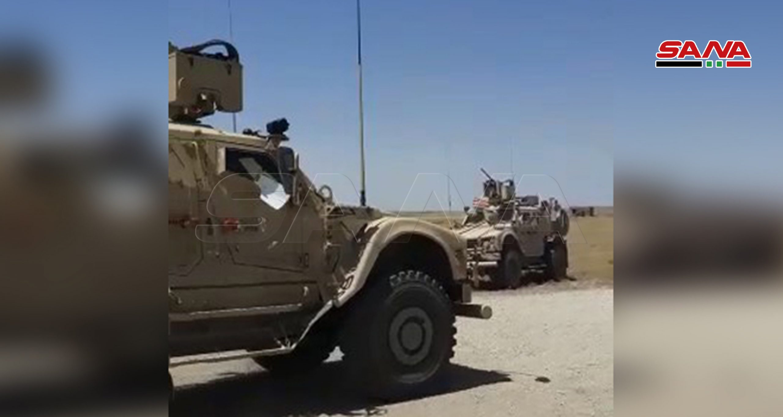 Syrians Blocked Another US Military Convoy In Hasakah Province (Video)