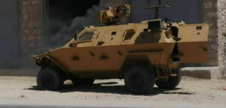 Turkish Cobra Vehicle Came Under IED Attack In Northern Syria