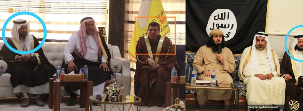 SDF Head Spotted Alongside With ISIS-Affiliated Tribe Leader