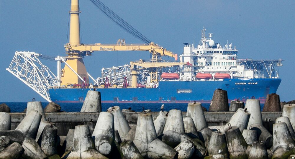 Akademik Chersky Pipe-Laying Vessel Changes Ownership To Circumvent U.S. Sanctions On Nord Stream 2
