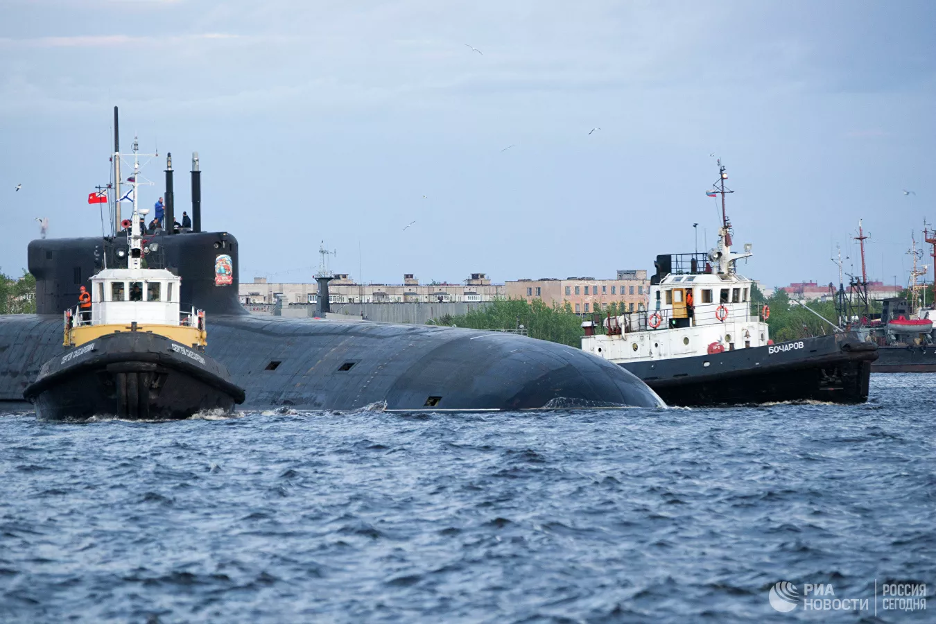 Russia's Nuclear-Powered Missile Carrier Submarine Knyaz Vladimir Entered Combat Duty