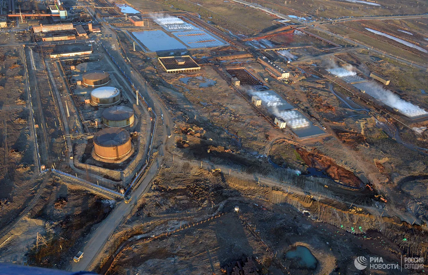 Russia Arrests Three After Massive Diesel Spill From Norilsk Nickel Power Plant In Siberia