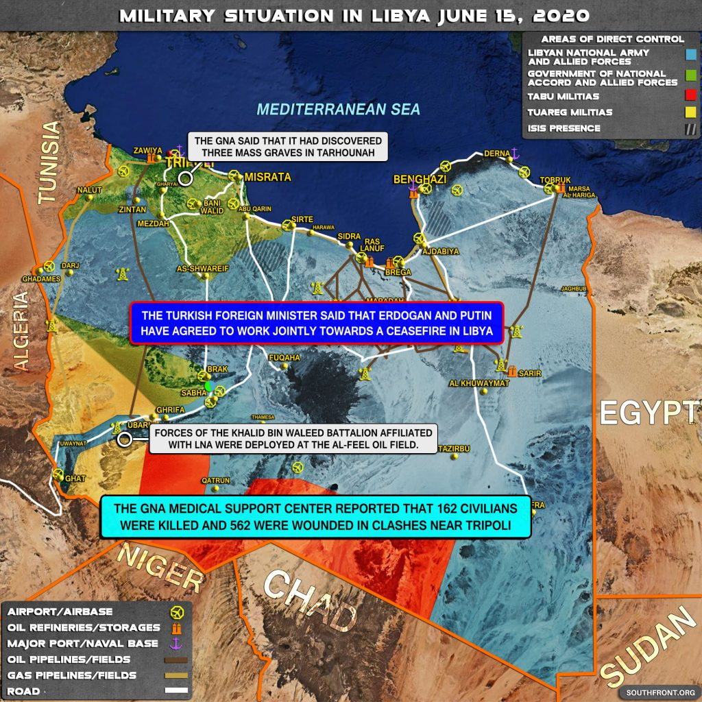 Military Situation In Libya On June 15, 2020 (Map Update)