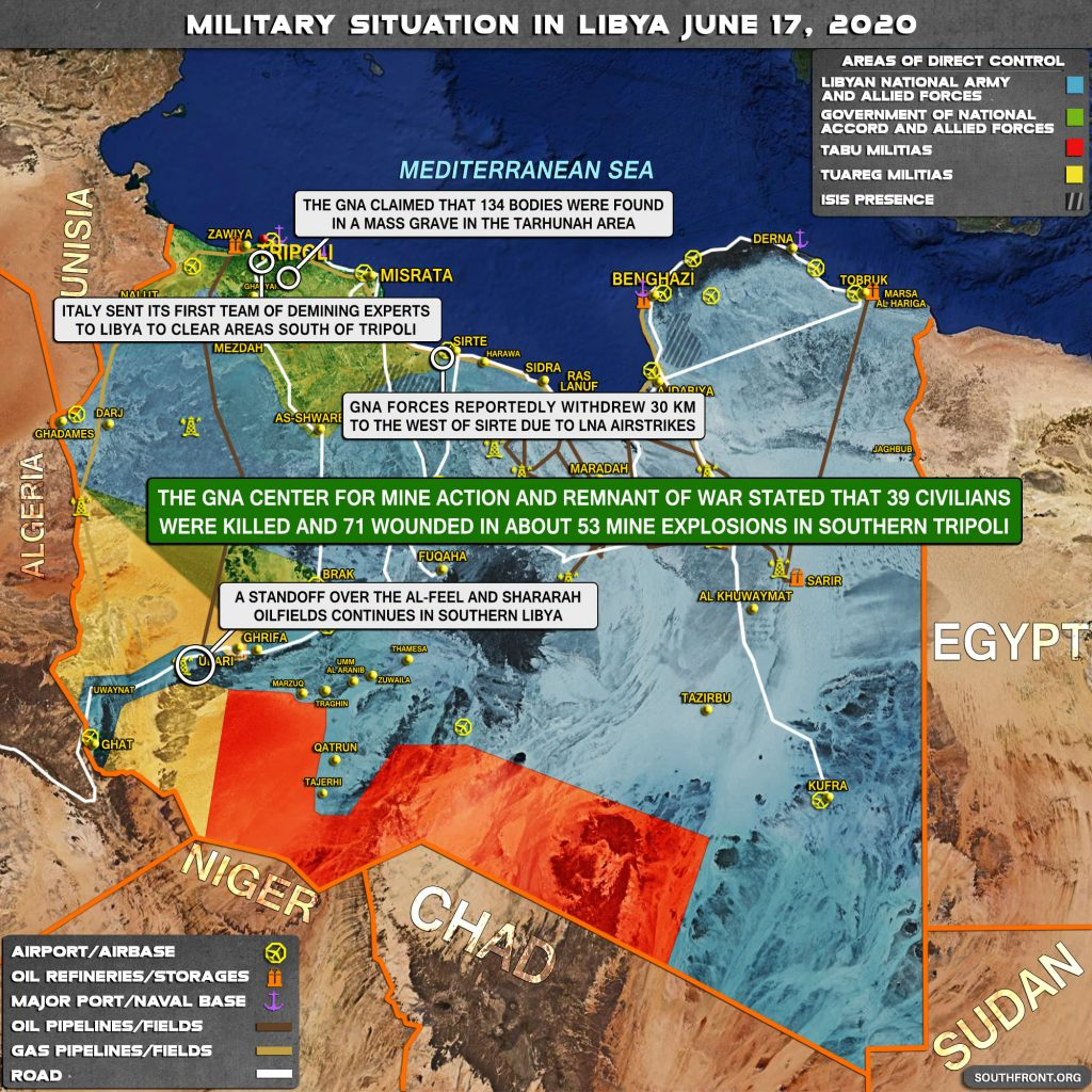 Military Situation In Libya On June 17, 2020 (Map Update)